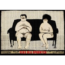 Sex Laundry Michele Riml Ryszard Kaja Polish Poster