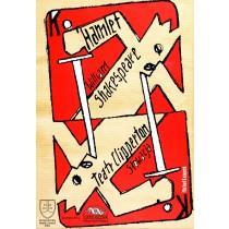 Hamlet William Shakespeare Michał Książek Polish Poster