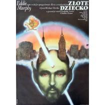 Golden Child Michael Ritchie Janusz Obłucki Polish Poster