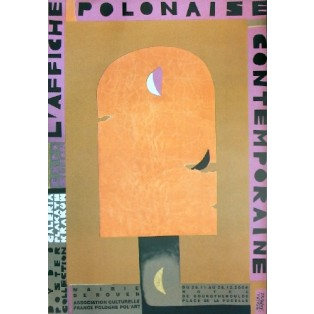 Affiche Polonaise, Hotel de Bourgtheroulde Monika Starowicz Polish Exhibition Posters