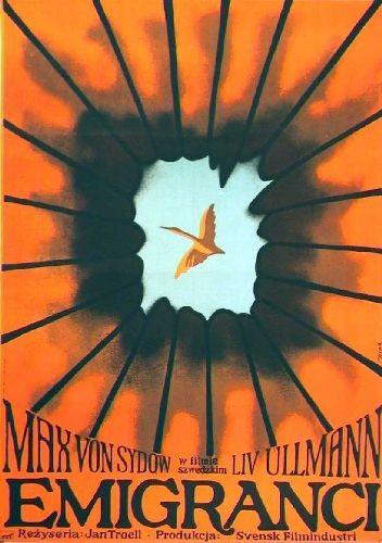 Emigranci Jan Troell Polish movie film poster