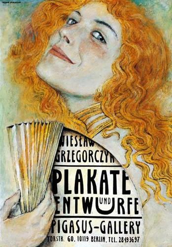 Polish Poster Wiesław Grzegorczyk