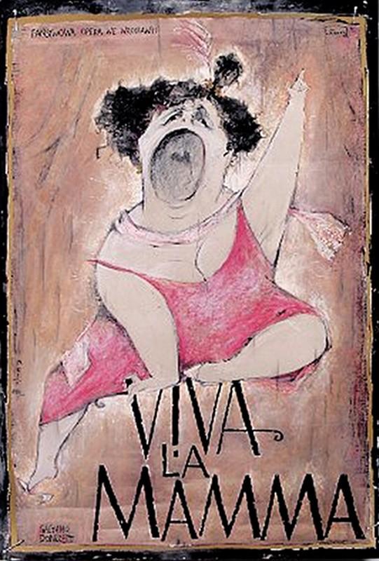 Viva La Mamma Gaetano Donizetti Poster