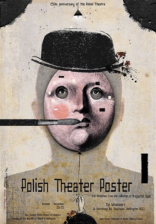 Ryszard Kaja Polish Theater Poster Wellington