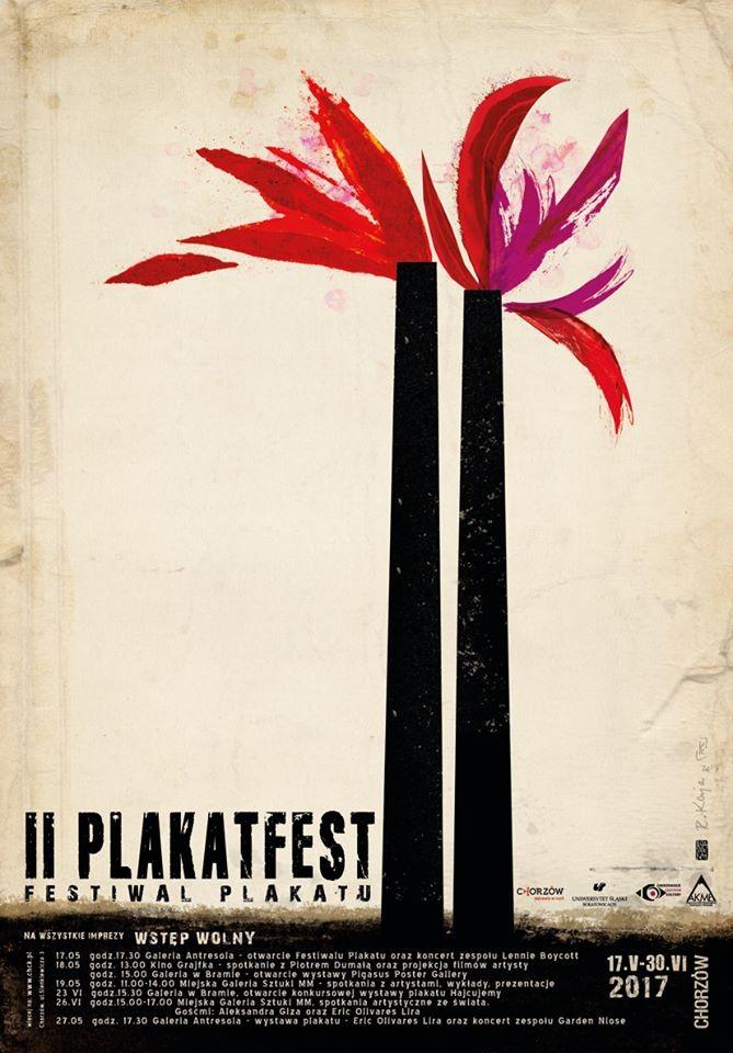 Ryszard Kaja PlakatFest 2 Chorzów