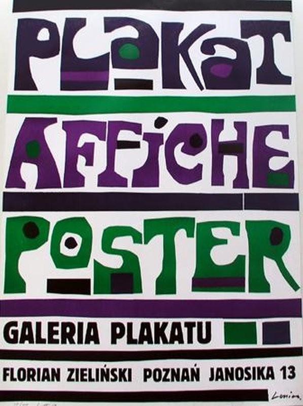 Jan Lenica Galeria Plakatu Janosika 13 Floriana Zielinskiego
