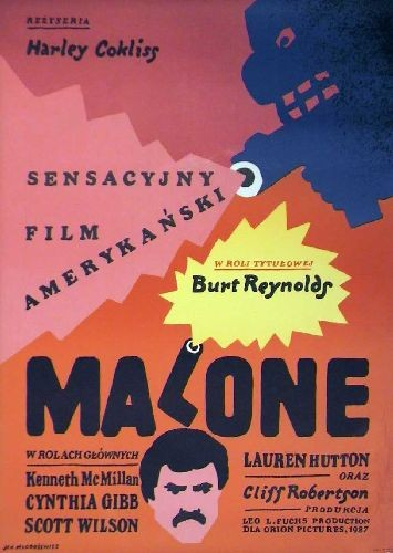 Malone Harley Cokeliss Polish film Poster