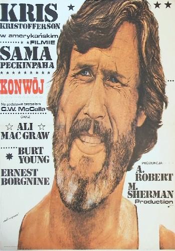 Konwój Sam Peckinpah (filmposter)