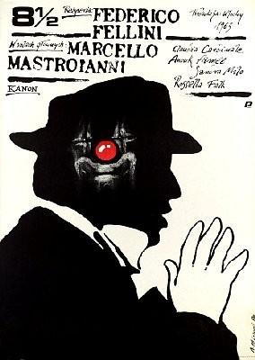 Federico Fellini 8,5 Poster