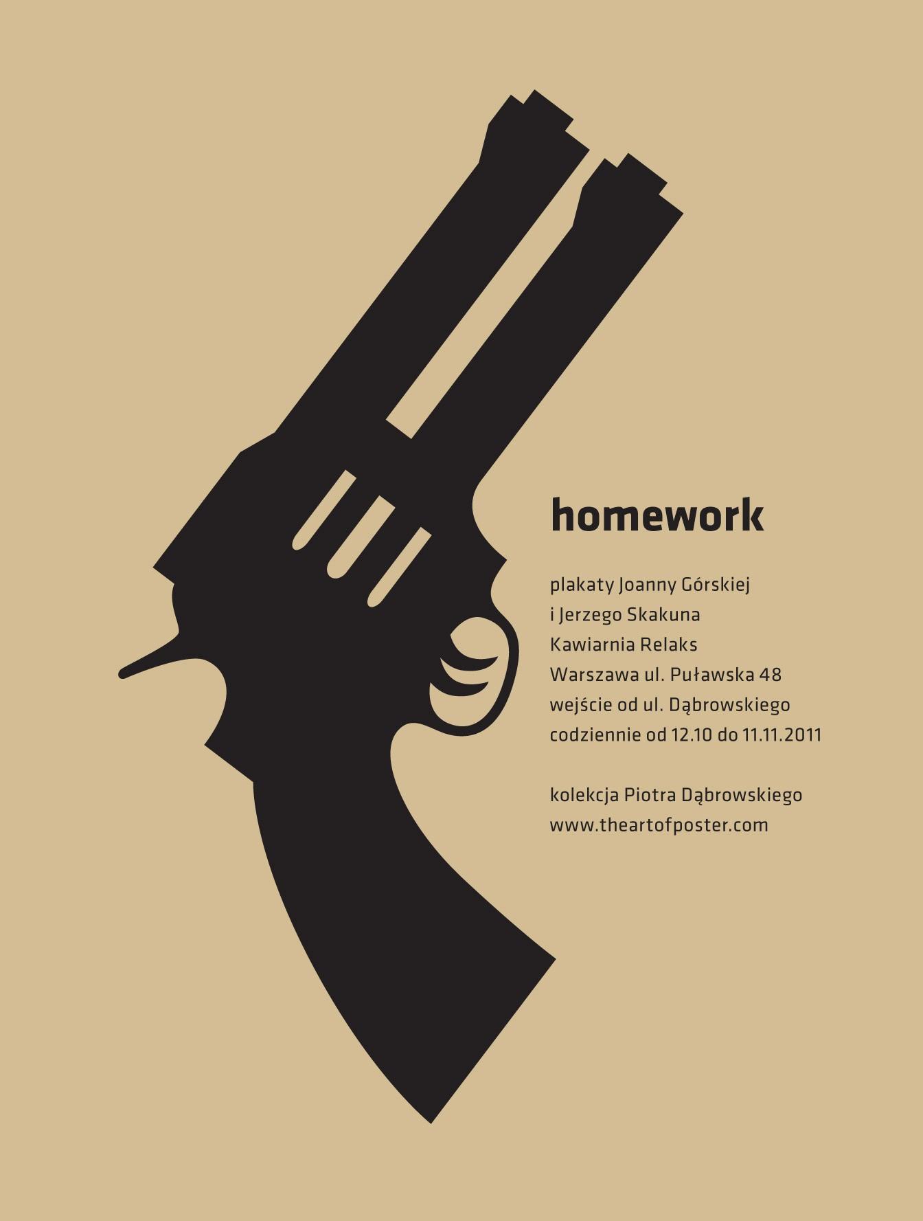 studio homework plakaty