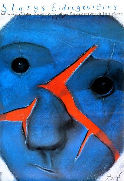 Exlibris w plakacie Panevezys