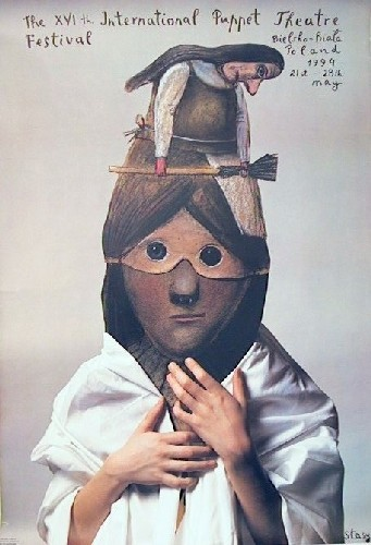 Poster Designer Stasys Eidrigevicius Puppet Theatre Festival