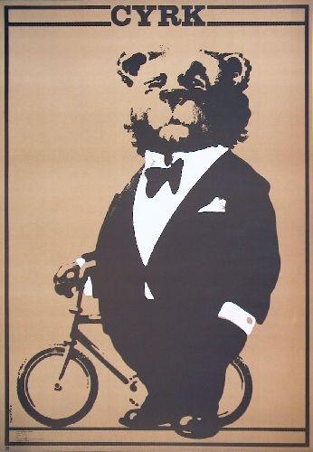 Cyrk Miś cyklista (Default)