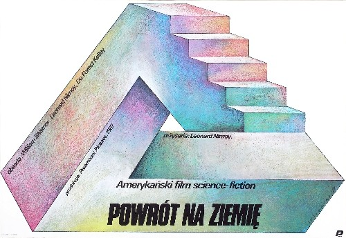 Voyage Home: Star Trek IV Leonard Nimoy Poster Walkuski Film poster