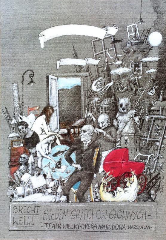 Seven Deadly Sins, Brecht, Weill
