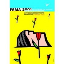 Fama 2001 Mirosław Adamczyk Polish Poster