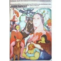 Jabberwocky Terry Gilliam Hanna Bodnar Polish Poster