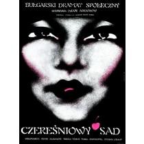 Cherry Orchard Ivan Andonov Danuta Baginska-Andrejew Danka Polish Poster