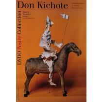 Don Quijote in polish poster Tomasz Bogusławski Polish Poster