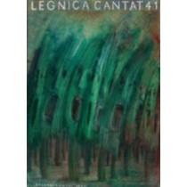 Legnica Cantat 41 Jerzy Czerniawski Polish Poster