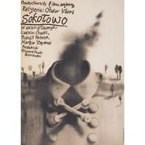 Sokolowo Otakar Vavra Jerzy Czerniawski Polish Poster