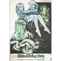 Curse of Snakes Valley Marek Piestrak Witold Dybowski Polish Poster