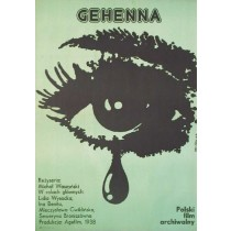 Anguish, Gehenna Michał Waszyński Jakub Erol Polish Poster