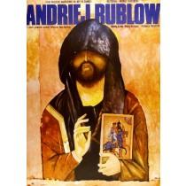 Andrei Rublev Jakub Erol Polish Poster