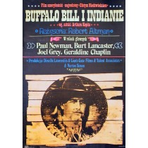 Buffalo Bill and the Indians Robert Altman Jakub Erol Polish Poster