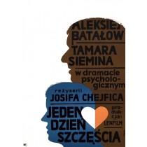 Day of Happiness Jerzy Flisak Polish Poster