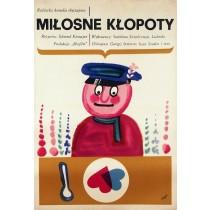 Cook Jerzy Flisak Polish Poster