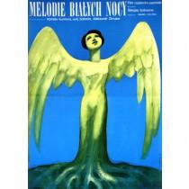 Melodies of a White Night Kiyoshi Nishimura Wiktor Górka Polish Poster