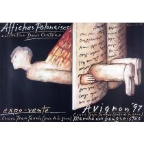 Avignon Affiches Polonaises 1997 Mieczysław Górowski Polish Poster
