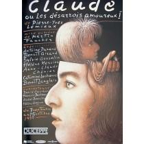 Claude Mieczysław Górowski Polish Poster