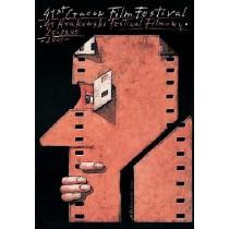 Cracow Film Festival - 41st Mieczysław Górowski Polish Poster