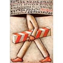 Art knows no borders in Koroszczyn  Mieczysław Górowski Polish Poster