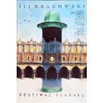 Poster Festival in Cracow Wiesław Grzegorczyk Polish Poster