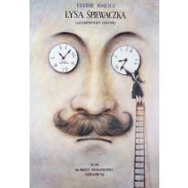 Bald Soprano Wiesław Grzegorczyk Polish Poster