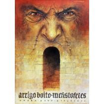 Mefistofele Wiesław Grzegorczyk Polish Poster