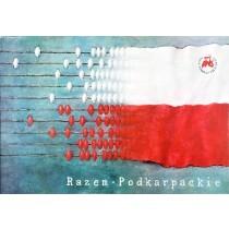Together Podkarpackie Wiesław Grzegorczyk Polish Poster
