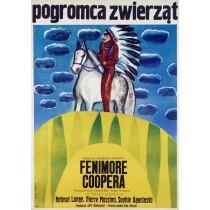 Deerslayer Sergiu Nicolaescu, Pierre Gaspard-Huit Maria Ihnatowicz Polish Poster