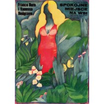 Quiet Place in the Country Elio Petri Maria Ihnatowicz Polish Poster