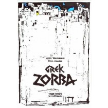 Zorba the Greek, Poznań Ryszard Kaja Polish Poster