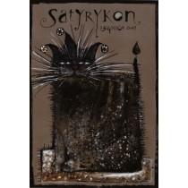 Satyrykon 2007 Ryszard Kaja Polish Poster