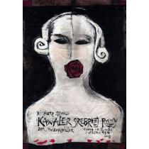 Knight of the Rose Ryszard Kaja Polish Poster