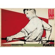 Zbigniew Kaja Posters Ryszard Kaja Polish Poster