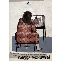 Czech Soap Opera Ryszard Kaja Polish Poster