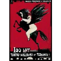 Wielki Theatre Ryszard Kaja Polish Poster