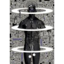 Cyborgs, androids  Ryszard Kaja Polish Poster