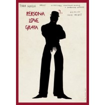 Persona love grata Ryszard Kaja Polish Poster